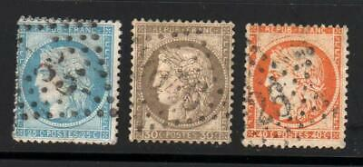 Lot timbres France CERES-  OBL - FF513