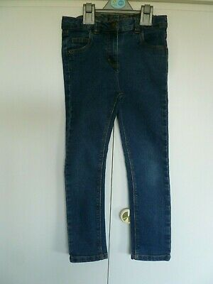 Girls Denim Co Blue Jeans Age 6 - 7 years