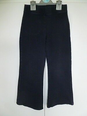 Girls Matalan School Life Navy Blue Trousers age 7 years