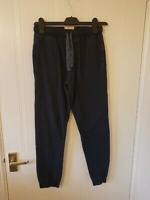 Boys Next Navy Blue Joggers Age 11yrs
