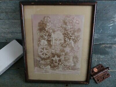 antique photograph calotype salt print fireman shrine firefighter photo 1850s