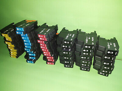 100 Virgin Empty Genuine Brother LC-61 Ink Cartridges 25 of each color LC61