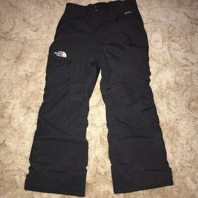 The North Face Snowboard Ski Trousers L 14/16 HyVent Black Pants Salopettes Boys