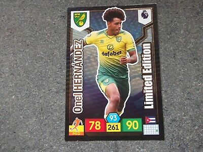 Panini  Premier League 2019/20 LIMITED EDITION HERNANDEZ (Norwich)