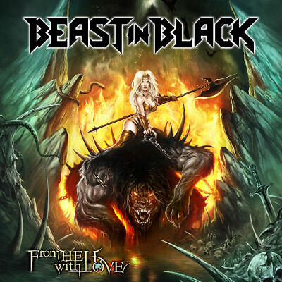 From Hell With Love +2 bonus tracks BEAST IN BLACK cd  ( battle beast)