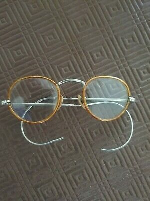 Antique Wire Frame Reading Glasses
