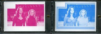 1977 Topps Charlies Angels Color Separation Proof Cards. #240