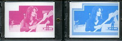 1977 Topps Charlies Angels Color Separation Proof Cards. #219