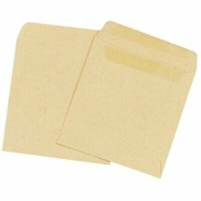 Wage Envelope Plain Self Seal Envelopes Manilla Office School Supplies 1000 Pcs