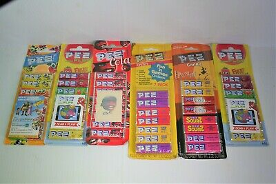 Pez Candy's x 6