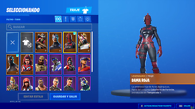 Fortnite +20 Skins, Skin Mamut, Packs De Inicio, Good Skins (Only For Pc)