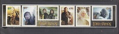 New Zealand 2003 Lord Of The Rings S/Adhesive  Mnh Set Of Stamps