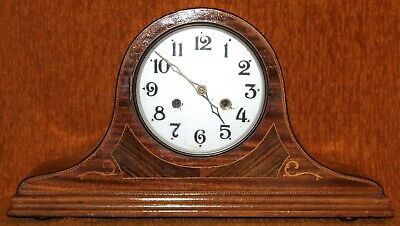 VINTAGE KENZLE  190/66 CHIME MANTLE CLOCK - 12 cm MOVEMENT