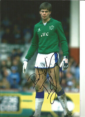 Bobby Mimms Everton 12 x 8 inch hand signed authentic football photo SS147A