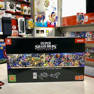 Super Smash Bros. Ultimate Limited Edition Nintendo Switch Brand New Sealed