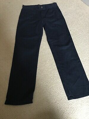 Boys Chino Trousers Slim Fit Age 10-11 Years