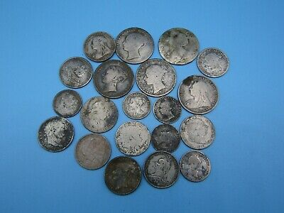 Large Collection of Pre 1920 .925 Silver Milled Coins
