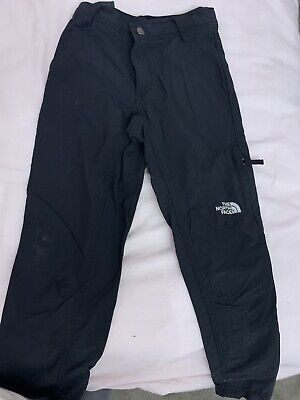 The North Face Black Combats Trousers Boys Age 10-12 Size M Medium good conditio