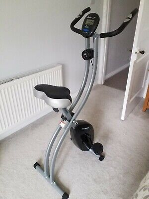 Roger Black Gold Folding Magnetic Exercise Bike - superb condition, compact