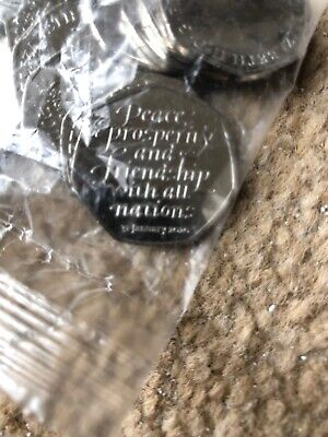 Brand New Uncirculated 2020 Brexit 50p Coin From Sealed Bag -