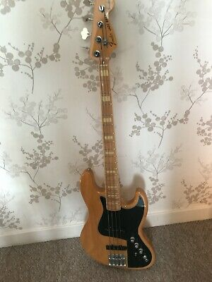Fender Jazz bass Marcus Miller Japanese with East Preamp and Badass Bridge