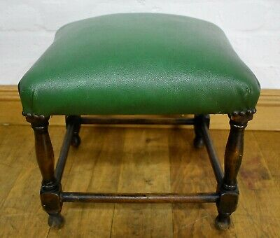 Antique vintage foot stool - footstool