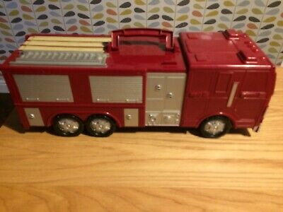 Chad Valley Large Take Along Fire Engine Transforming Playset