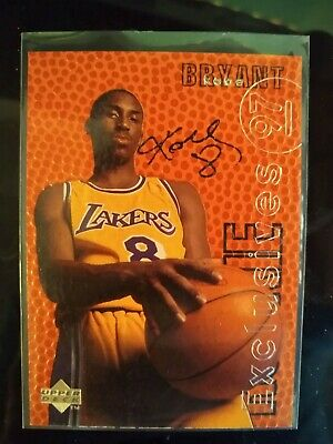 1996/97 96 KOBE BRYANT Upper Deck UD Rookie Exclusives AUTOGRAPH RC JSA Ebay 1/1