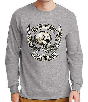 Bad To The Bone Cradle To Grave Women/'s Racerback High Quality Brand New Shirt