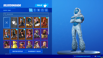Fortnite +20 Skins, Legend, Fast Order, Skin Christmas Mamut, (Only For Pc).
