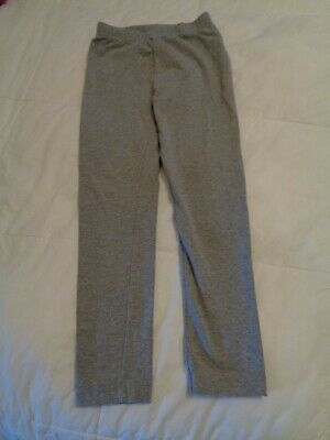 Hannah Andersson leggings, size 6/7 (120cm), gray, 90% cotton. never worn.