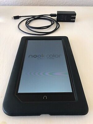 Barnes & Noble Nook Color 8GB, Mod. BNRV200 Wi-Fi, 7in Tablet, Book, eReader