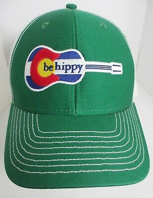 Be Hippy Colorado Hat Cap Child Kids Youth aprox age 4/>6 Snapback Trucker New