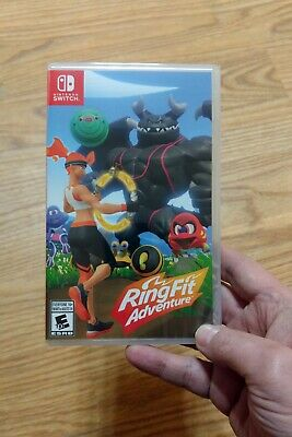 Ring Fit Adventure New Sealed Game Only No Accessories No Ring Nintendo Switch