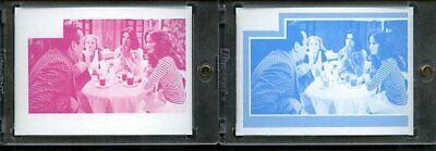 1977 Topps Charlies Angels Color Separation Proof Cards. #252