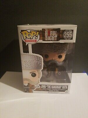 Funko Pop! Movies Hateful H8ful Eight John Ruth The Hangman 255 GREAT CONDITION