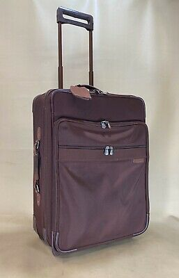"""Briggs & Riley Baseline Collection 24"""" One-Touch Expandable Upright U24NX Brick"""