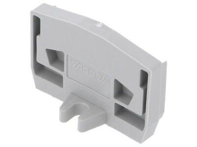 25x 264-361 End plate Colour grey Series 264  WAGO