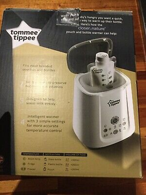 ❤ Tommee Tippee Closer to Nature Pouch & Bottle Food Electric Warmer Powerful ❤