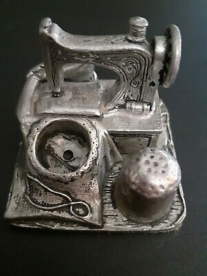 Antique Singer Sewing Machine Thimble And Pin Holder