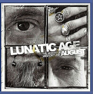 August The Month Of Misfortune (+DVD bonus) - Lunatic Age - NEUF sous blister.