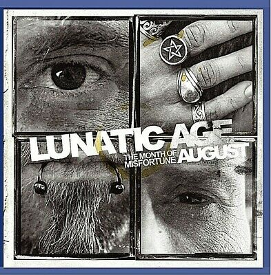 August The Month Of Misfortune (+DVD bonus) - Lunatic Age - NEUF sous blister