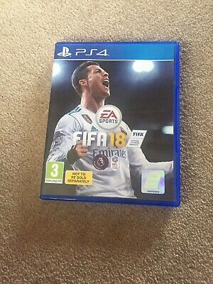 Fifa 18 Ps4 In Excellent Condition No Scratches