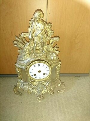 An Antique French Mantel Clock Case