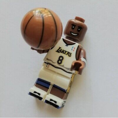 Kobe Bryant - LA Lakers - Los Angeles Basketball Lego Mini Figure / Figurine