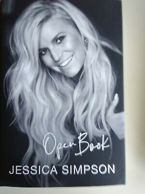 Open Book by Jessica Simpson - NEW hardcover (2020)