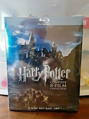 Harry Potter Complete 8-Film Collection Blu-Ray (Factory Sealed)