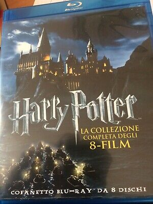 Harry Potter Confanetto 8 Blue Ray