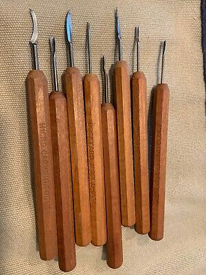 Dockyard Micro Gouges 8 Pc V Set Woodcarving Tools