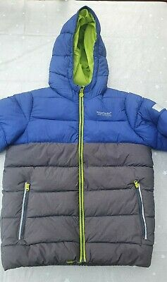 Kids Regatta Stormforce Padded Insulated Thermal Jacket aged 11/12